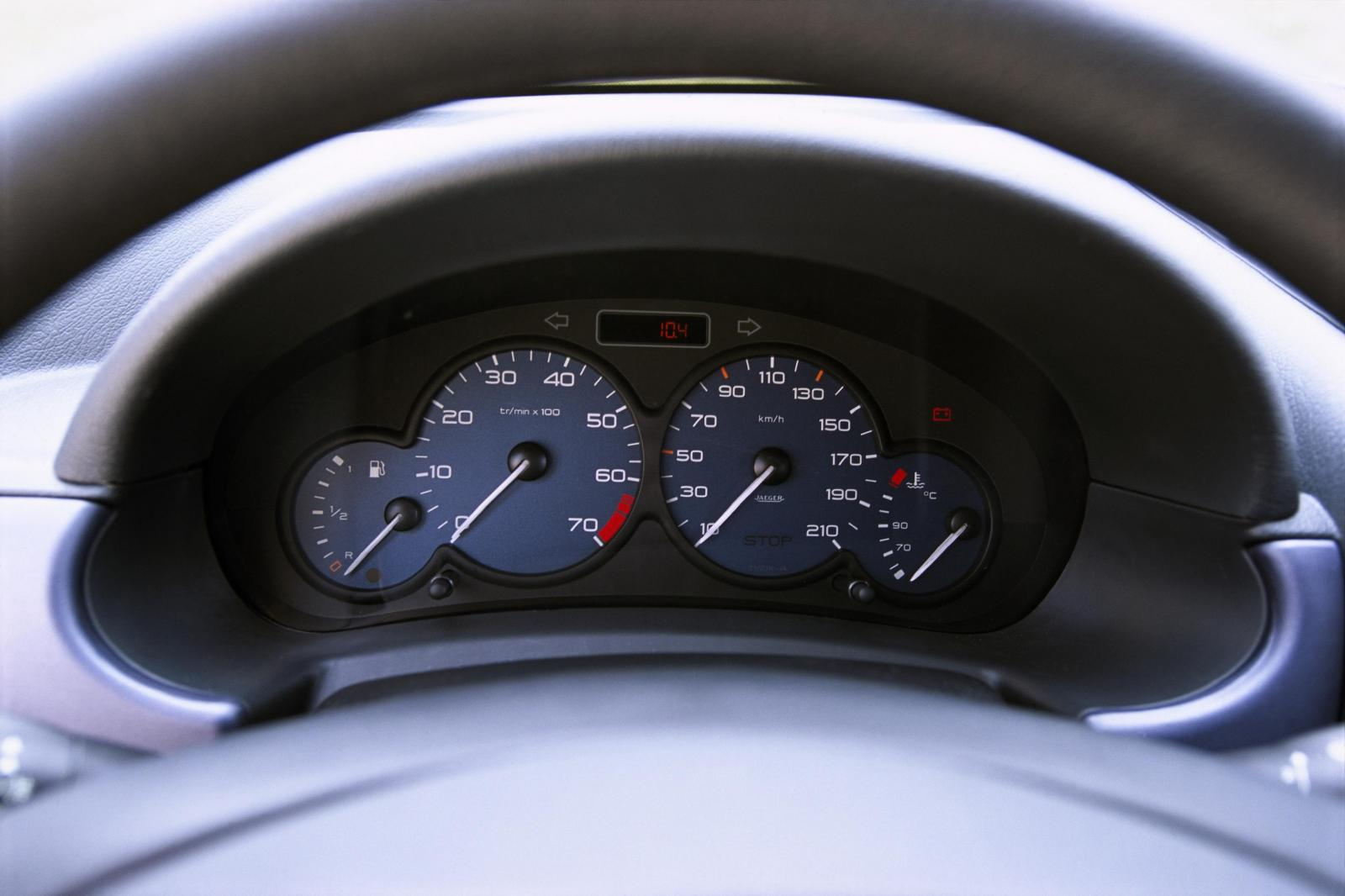 Berlingo 2002 speedometer