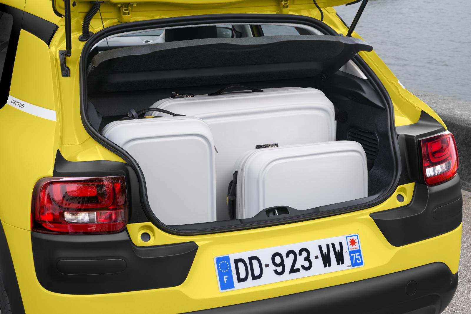 C4 Cactus Feel Edition 2014 åpent bagasjerom