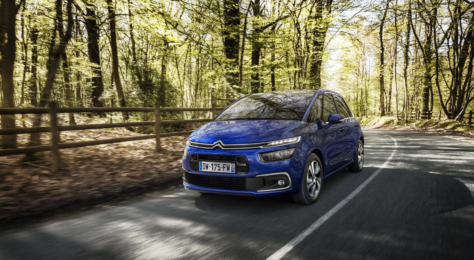 C4 Picasso Shine 2016 ¾ forfra