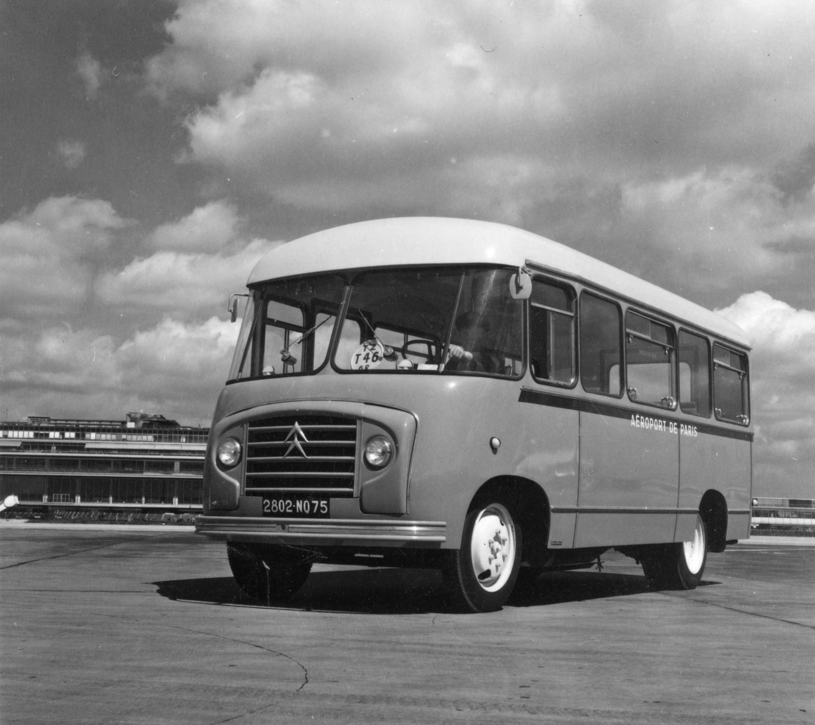 Aéroport de Paris Citroën Buss