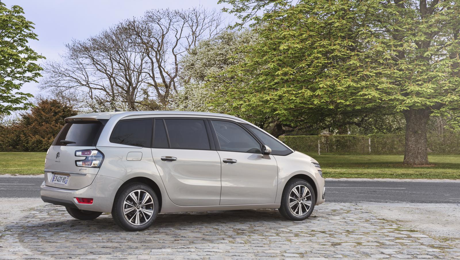 Grand C4 Picasso Shine 2016 ¾ bakfra