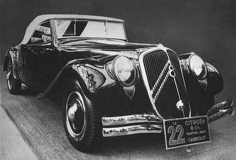 Traction 22 Kabriolet 1934
