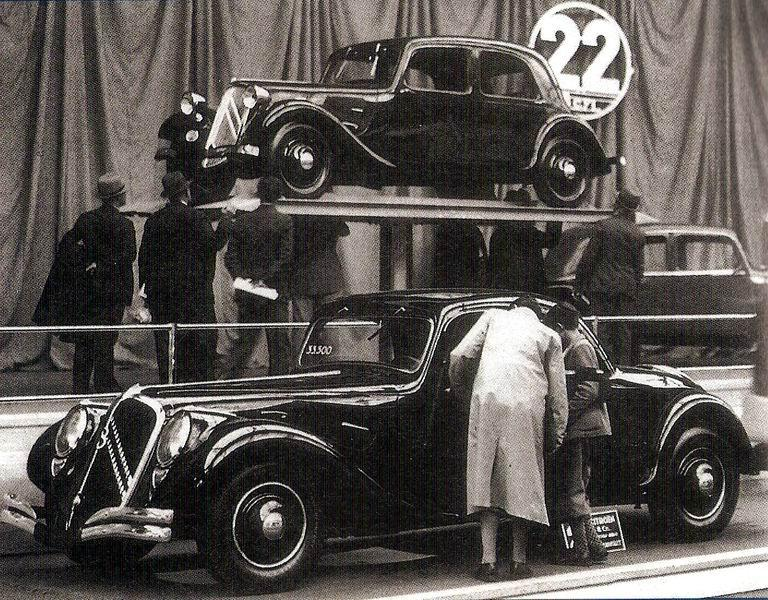Traction 22B «Faux-Cabriolet» 1934